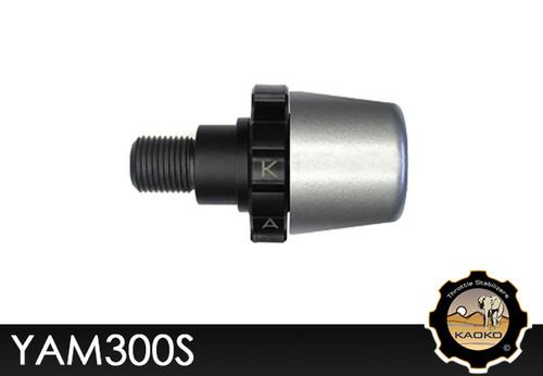 KAOKO Motorcycle Throttle Stabilzers for Yamaha FZ1 (-'15 Models) Silver Finish