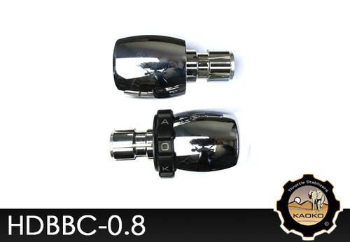 KAOKO Cruise Control for Harley Davidson 1.5 inch handlebars - Chrome Barrel shape