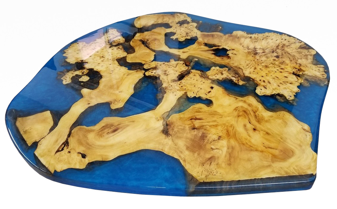 Stone Coat Buckeye Burl Table Top