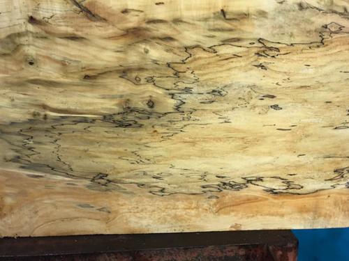 Spalted Box Elder River Table BER003