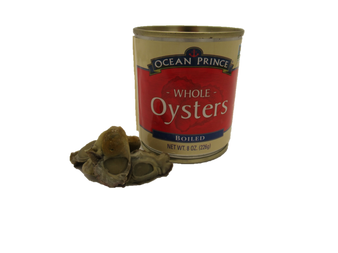 CANNED OYSTERS