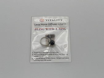 VITALITY EXTRACTS LAVA STONE DIFFUSER CHARM