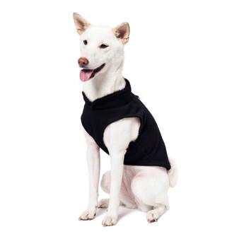 Gooby Fleece Vest Black