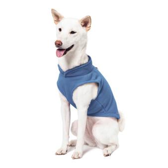 Gooby Fleece Vest Blue