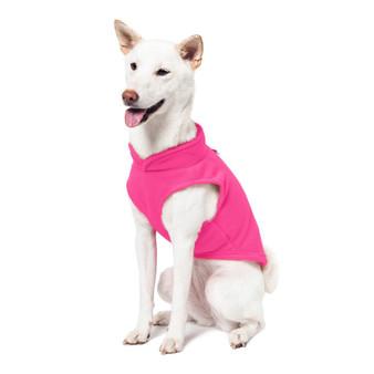 Gooby Fleece Vest Pink