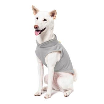 Gooby Fleece Vest Grey