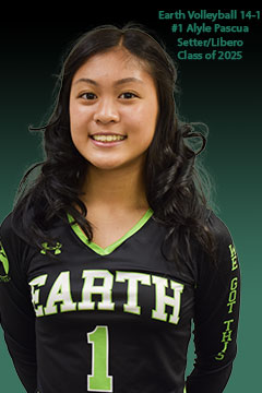 Earth Volleyball Club 14-1 #1 Alyle Pascua