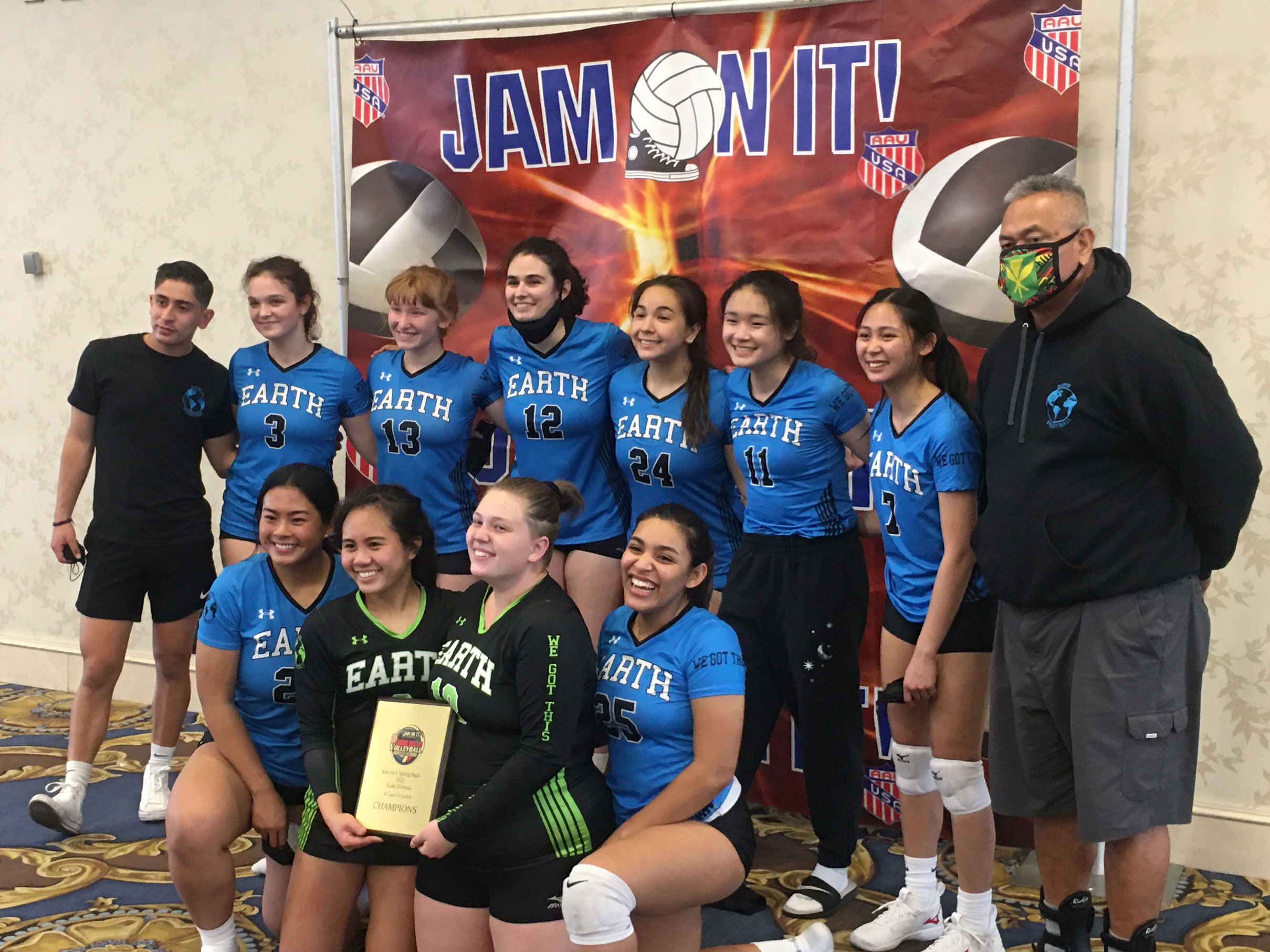 2021 Jam On It Spring Bash Grand Prix Gold Division Winners Earth Volley 17
