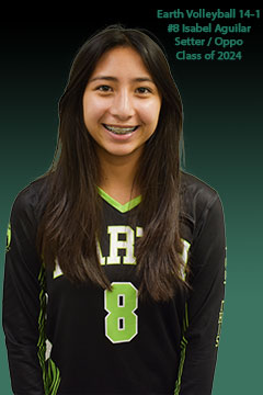 Earth Volleyball Club 14-1 #8 Isabel Aguilar
