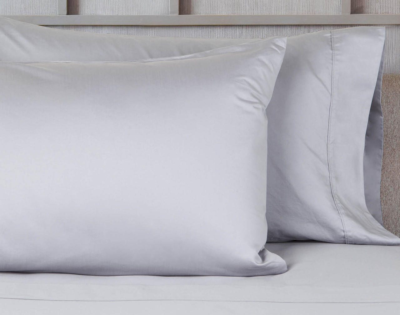 620TC Cotton Sateen Pillowcase - Silver