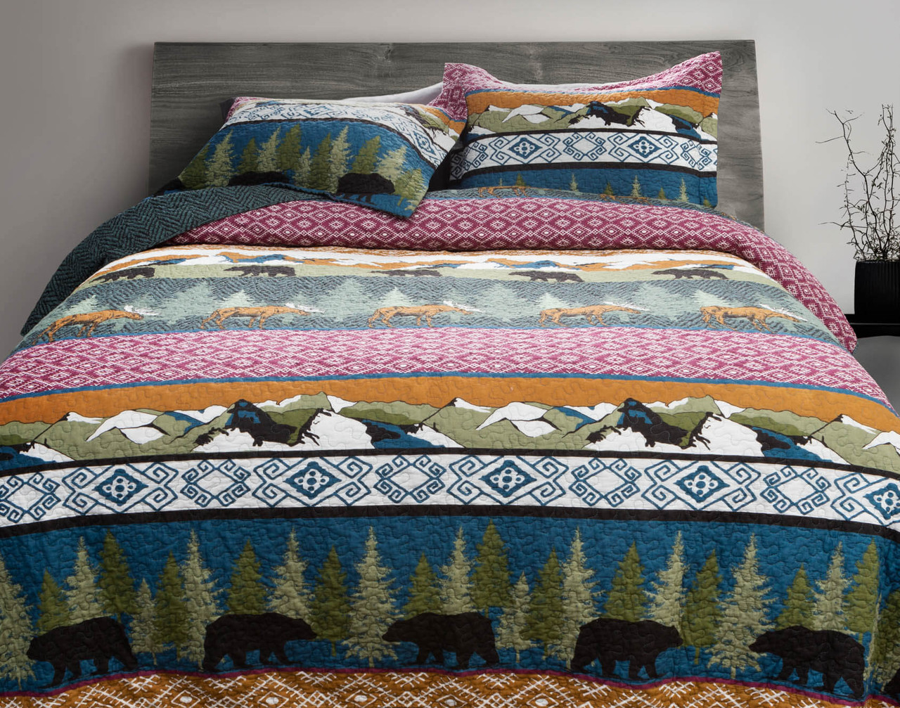 Great Frontier Cotton Quilt Set