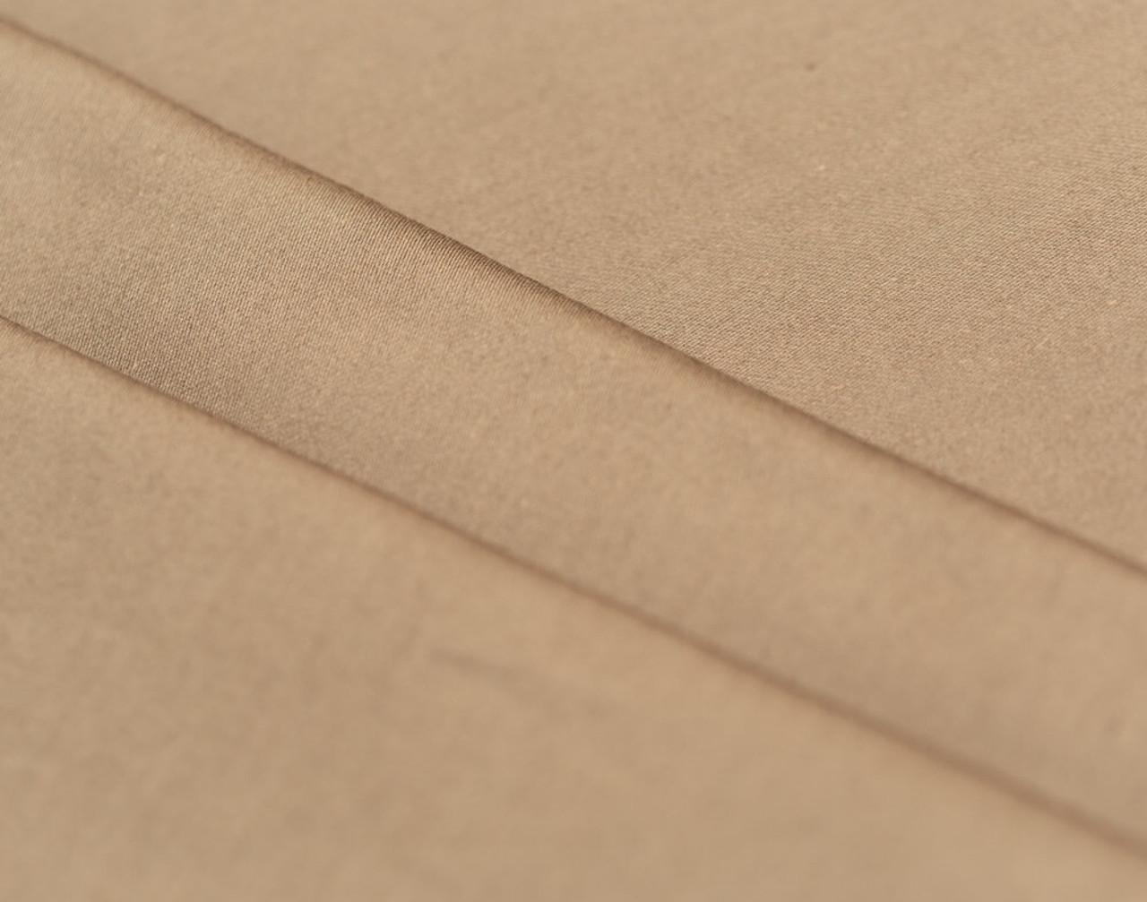 300TC Cotton Sateen Sheet Set - Khaki