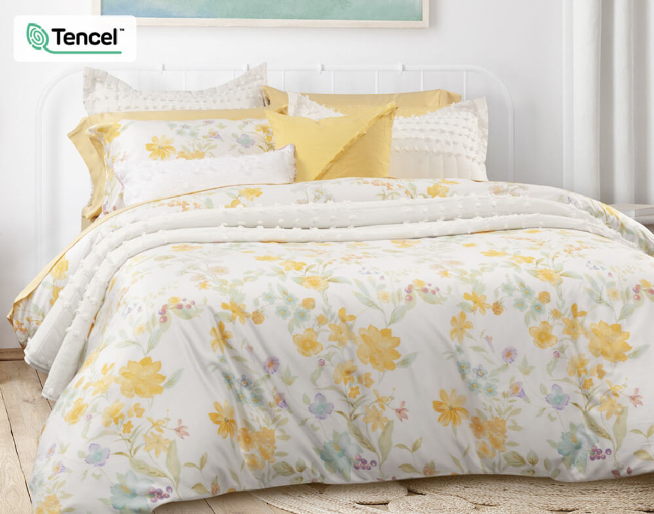 Alyssa Bedding Collection, angle view.