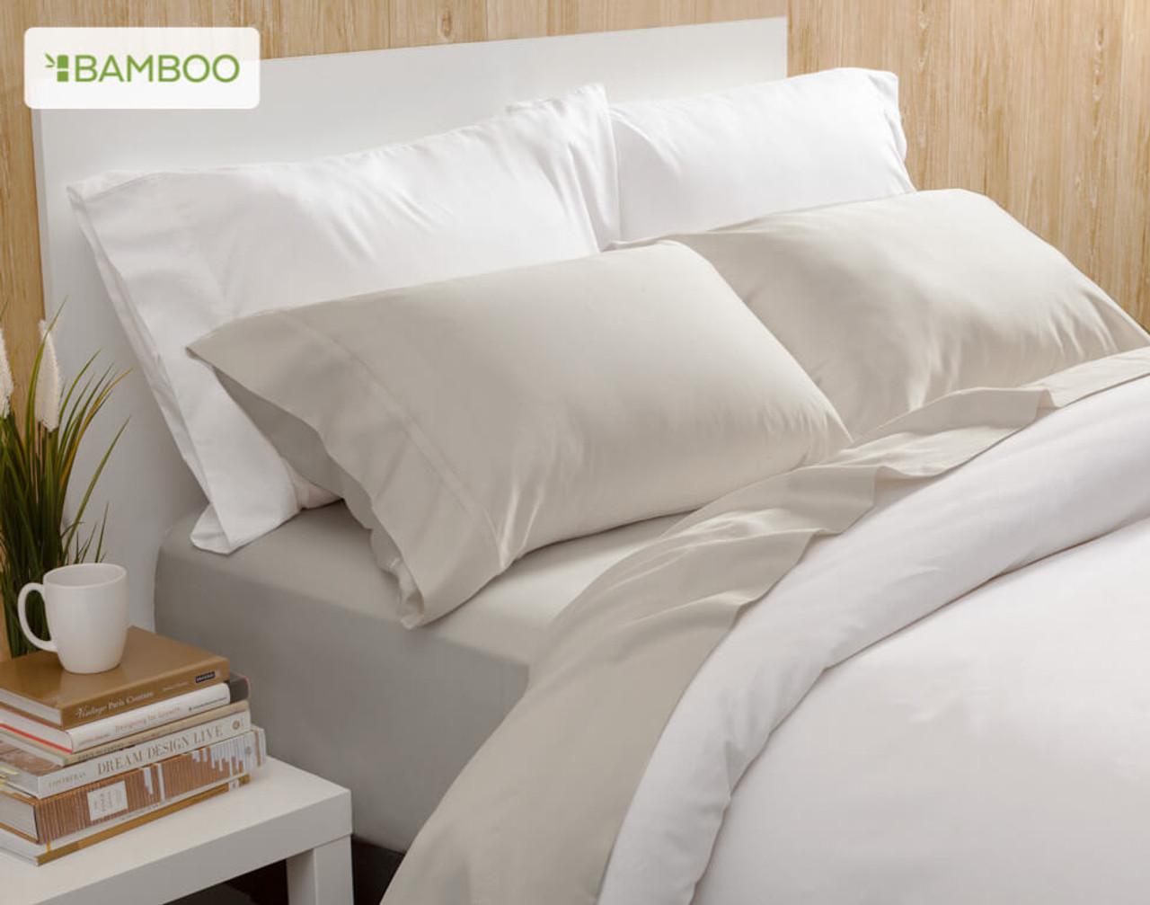 Bamboo Cotton Sheet Set - Driftwood (Twin & Twin XL Only)