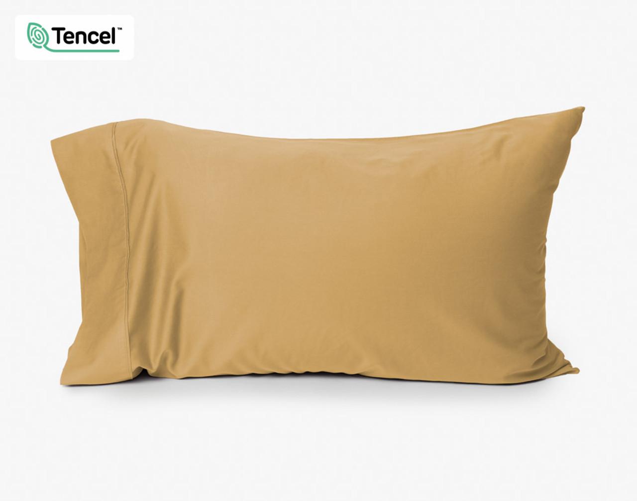 Honey Gold BeechBliss TENCEL™ Modal Pillowcase with Pillow Insert