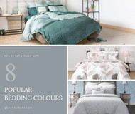 How to Set a Mood With Eight Popular Bedding Colours