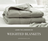 The Lowdown on Weighted Blankets