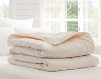 Pure Australian Wool Duvet, folded