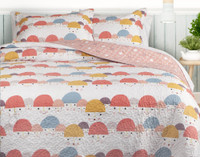 Funny Face Coverlet Set**
