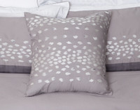 Snow Leopard Square Cushion Cover