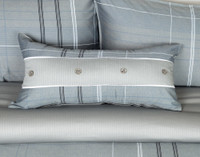 Renzo Boudoir Cushion Cover on bed