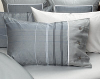 Renzo Pillow Sham on bed