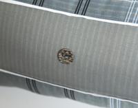 Renzo Pillow Sham button close-up