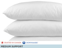 Luxurious Down Pillows in a pile