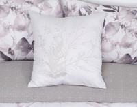 Laurel Square Cushion on bed