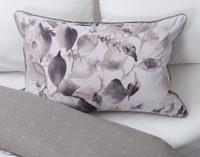 Laurel Pillow Shams on bed