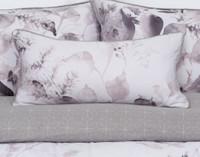 Laurel Boudoir Pillow on bed