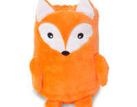 Cuddle Buddies - Baby Animal Fleece Blankets - Fox
