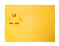 Cuddle Buddies - Baby Animal Fleece Blankets - Duck