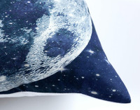 Supernova Square Cushion Cover corner close-up