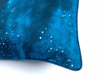 Supernova Pillow Sham piped edges close-up