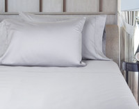 620TC Cotton Sateen Sheet Set - Silver (Extended Sizes Available)