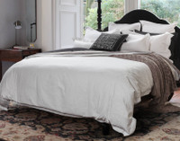 Side view of Astoria Bedding Collection