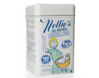 Nellie's® Laundry Soda is an all-natural, concentrated powder detergent.