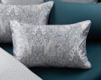 Danube Pillow Shams on bed