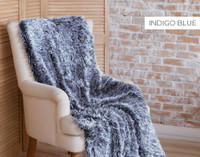 Frosted Shaggy Throws