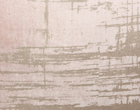 Velvet Metallic Square Cushion Cover - Blush
