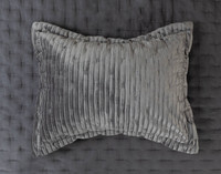 Cavalo pillow sham in Charcoal.