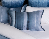 Ultramarine Pillow Sham on bed