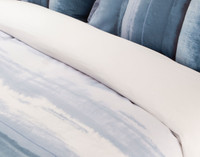 Ultramarine Duvet Cover close-up