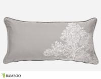 Silverleaf Boudoir Pillow Cover