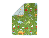 Dino Roar Crib-Sized Quilt
