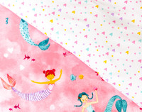 Mermaid Dreams Duvet Cover Set