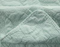 Riverglade Sand Washed Coverlet Set - Bluette