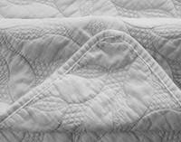 Riverglade Sand Washed Coverlet Set - Silver
