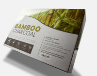 MLILY® Bamboo Charcoal Memory Foam Pillow packaging.